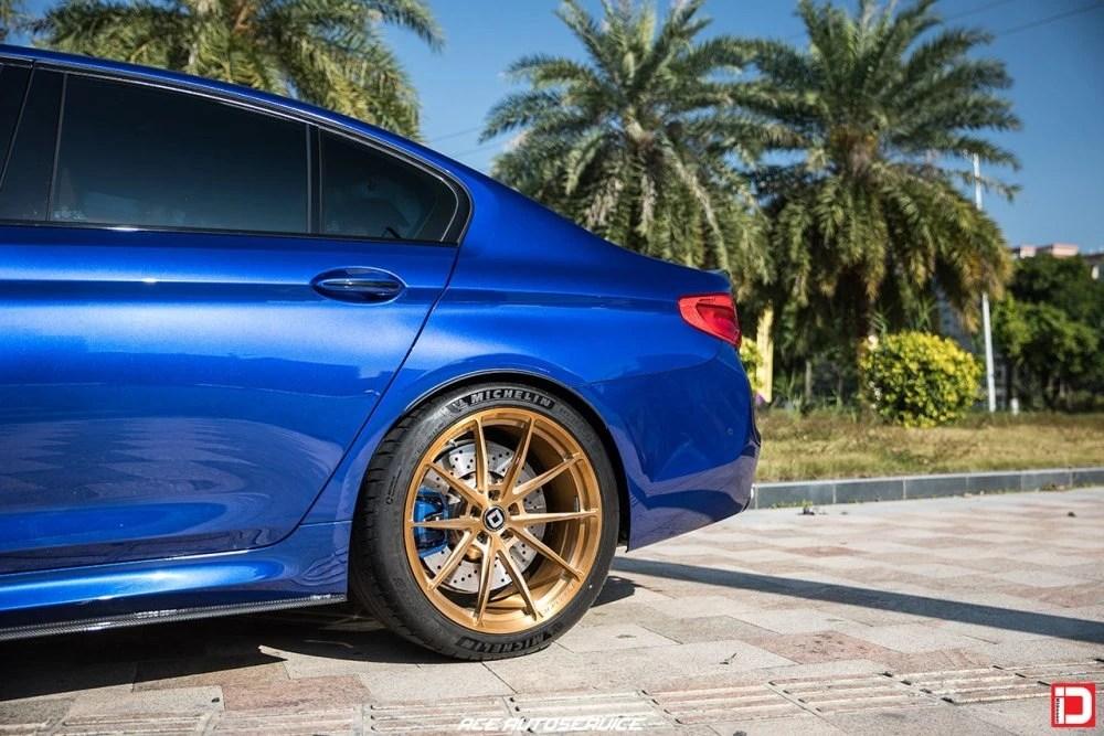 BMW F90 M5 – KlasseniD Wheels MS03 Brushed Monaco