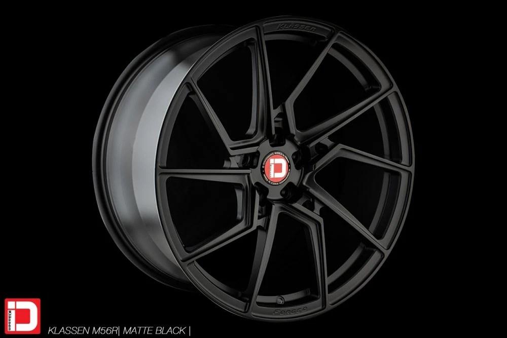 kKlasseniD Wheels M56R Monoblock Forged – Matte Black