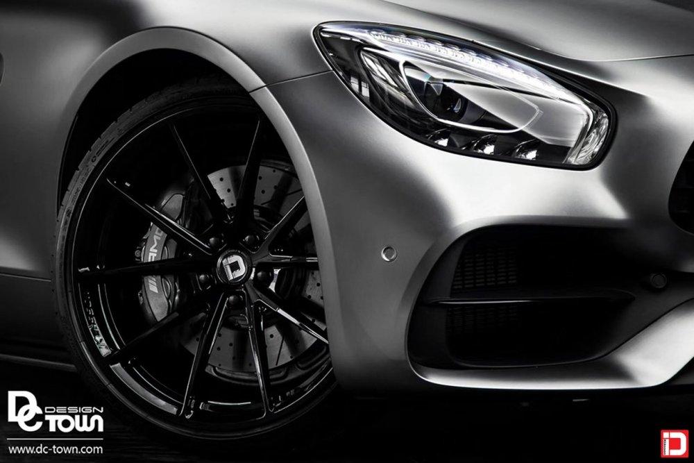 Mercedes-Benz AMG GTR – KlasseniD Wheels MS03 Gloss Black