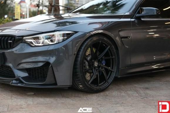 BMW M4 Klassen M56R Matte Black