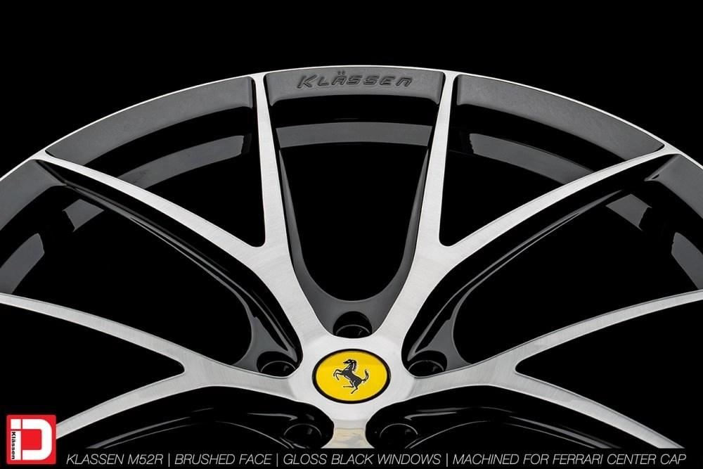 KlasseniD Wheels M52R – Brushed with Gloss Black Windows 12