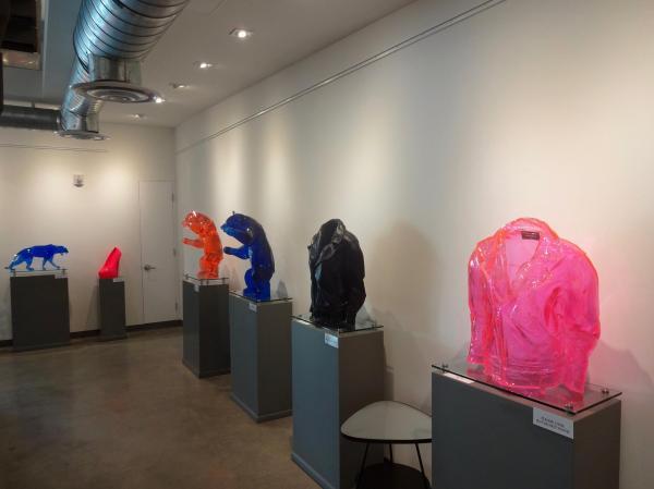 Richard Orlinski In Markowicz Fine Art Miami