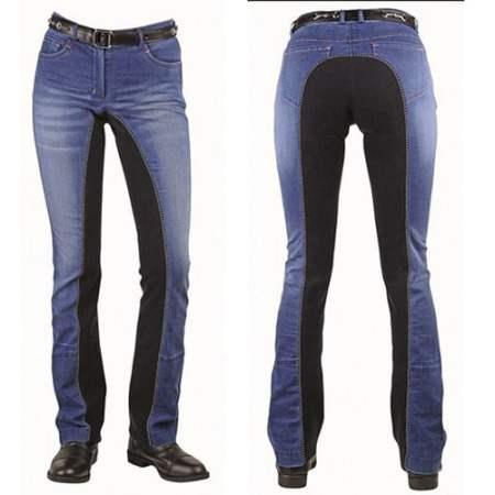 Jeans ridebukser sommer model