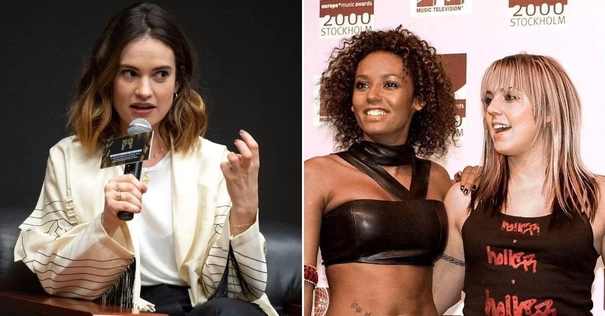 Tech :  Lily James sur une crise de colère embarrassante sur les Spice Girls  infos , tests