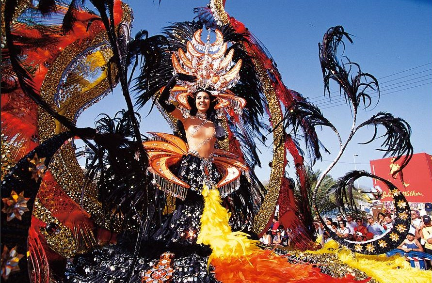 Canary Islands Carnival ... Who Needs 'Carnaval do Brazil'?