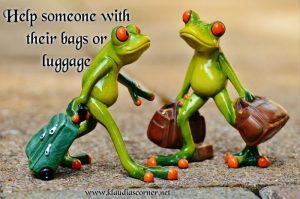 TGIF .... Freddy Frog's random acts of kindness