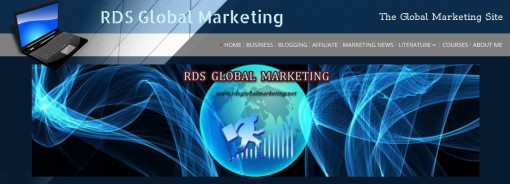 rdsglobalmarketing - a great source for online marketing & network related issues