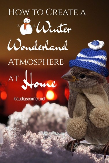 Winter Wonderland Home Decor - How To Create A Winter Wonderland Atmosphere At Home