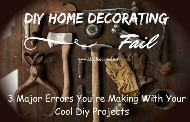 DIY Home Decorating Fail