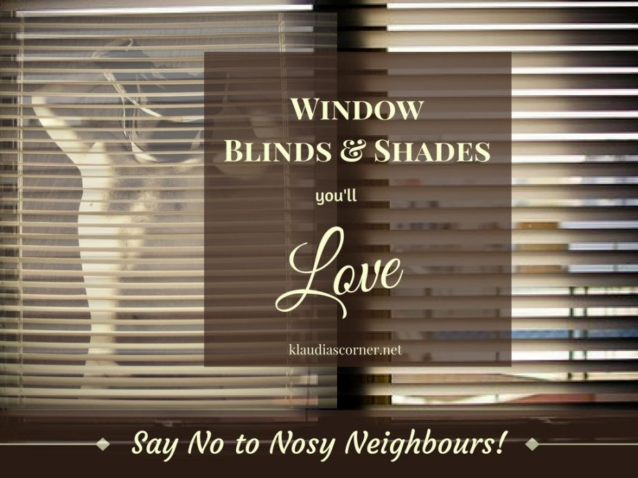Window Blinds and Shades