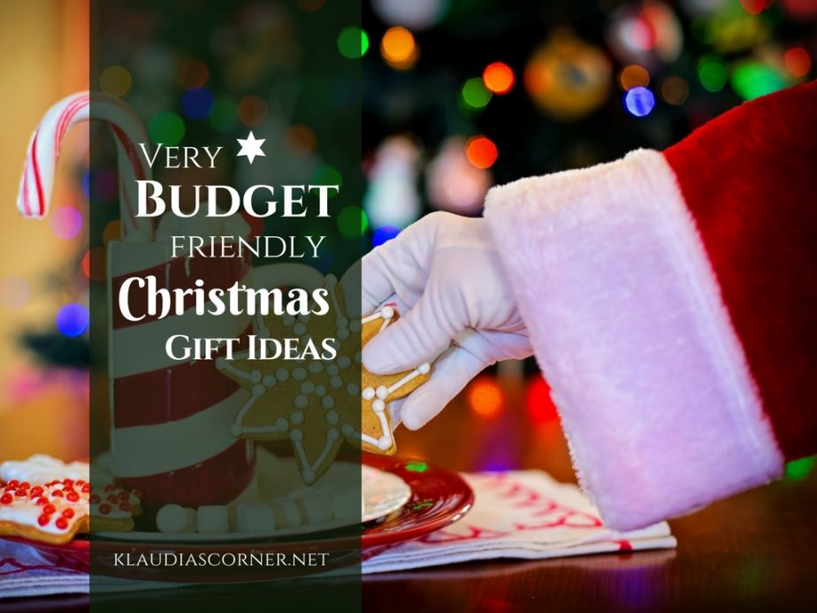 Best Last Minute Christmas Gifts - Frugal Christmas gift Ideas - klaudiascorner.net
