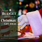 Frugal Christmas Gift Ideas For The Small Wallet