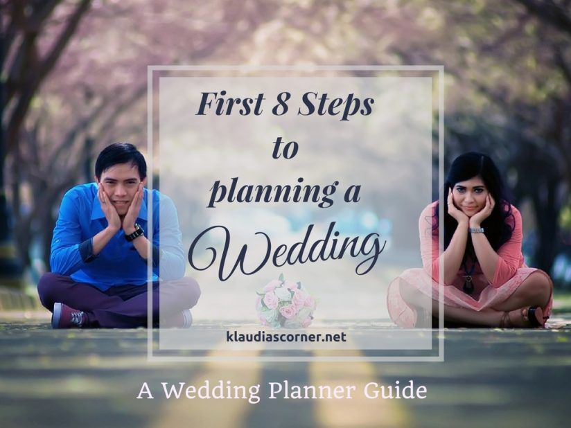 wedding planner guide the first 8 steps to planning a On first steps to planning a wedding