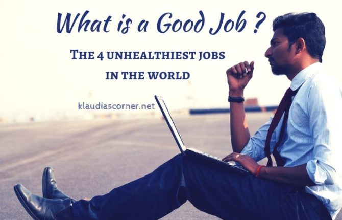 What is a Good Job