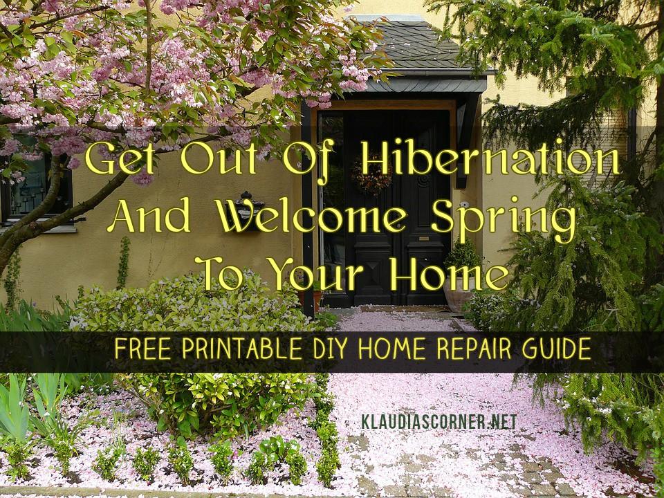 Home fix checklist free printable diy home repair guide home fix checklist solutioingenieria Images