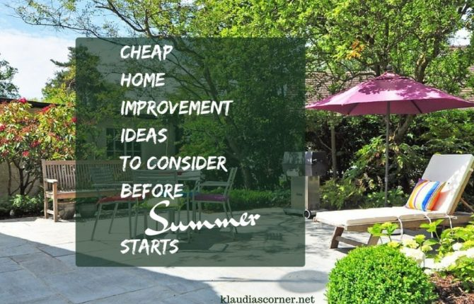 Cheap Home Improvement Ideas