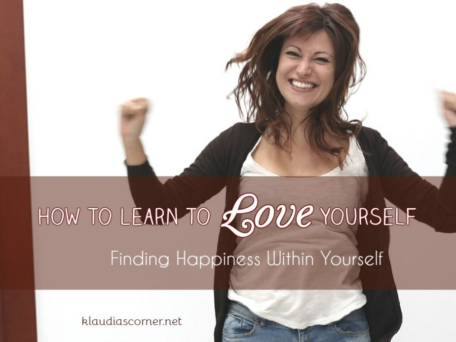 how to find love within yourself