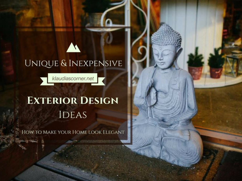 Home Decor Ideas - Unique Inexpensive Exterior Solutions To Make Your Home Look Elegant
