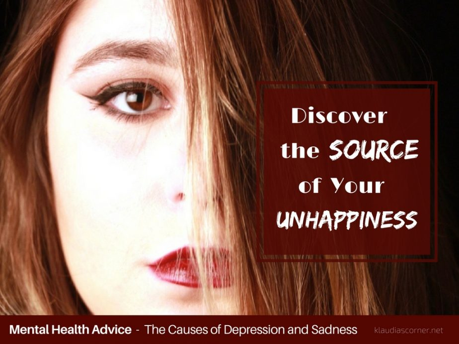 The Causes Of Depression And Sadness -  Discover The Source Of Your Unhappiness