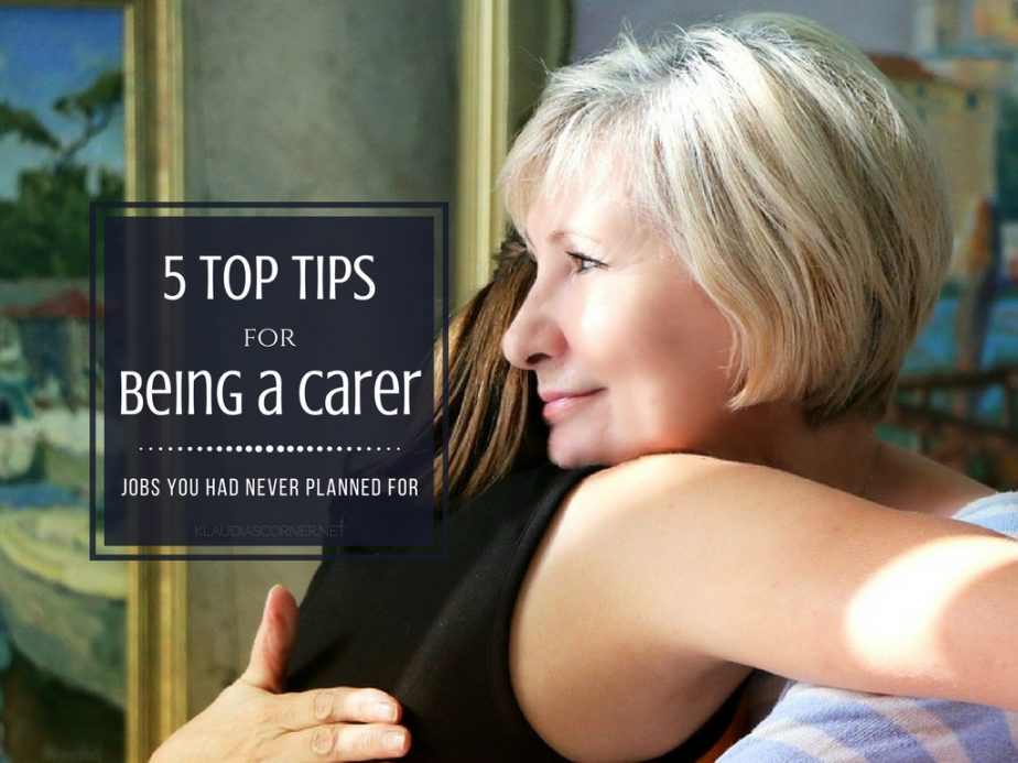 Private Caregiver Jobs You Never Planned For - 5 Tips On Being a Carer