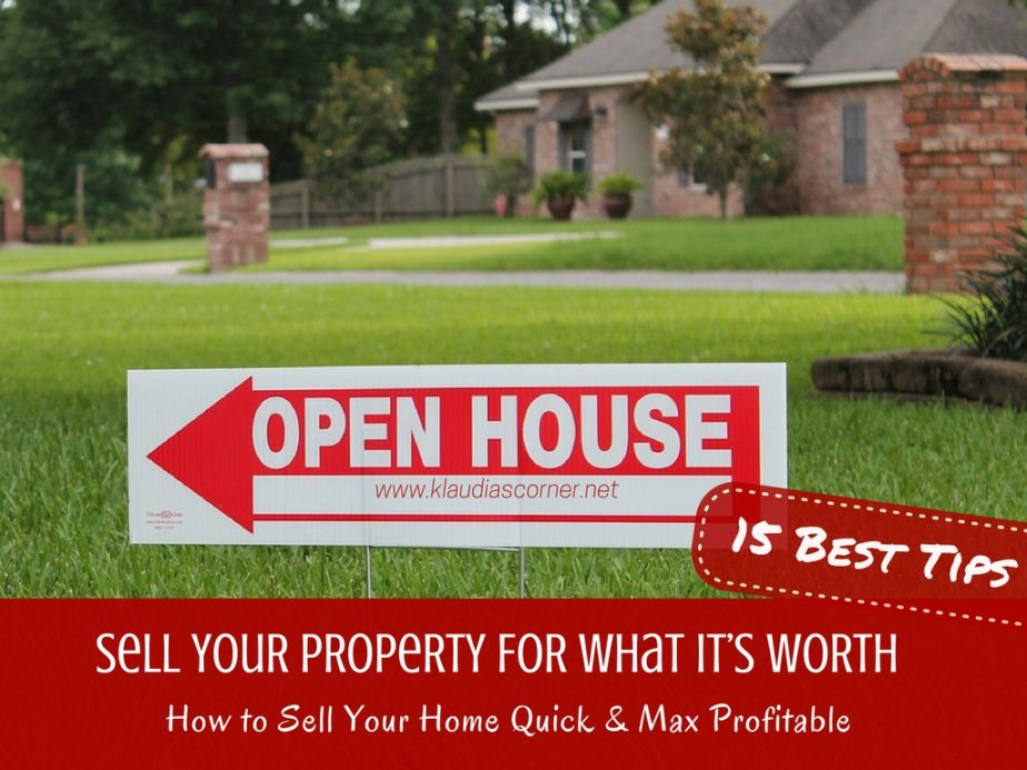 How To Sell Your Home Quick & Profitable Ensure Your Property Sells For What It's Worth!