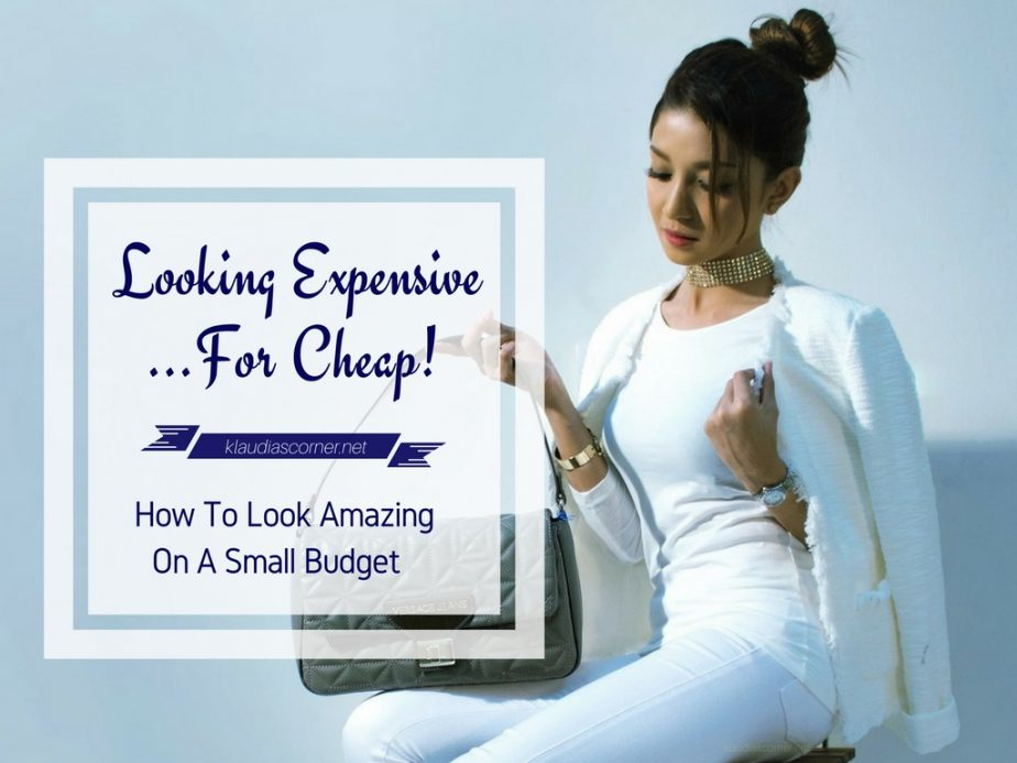 How To Look Attractive On A Budget - Looking Expensive... For Cheap!