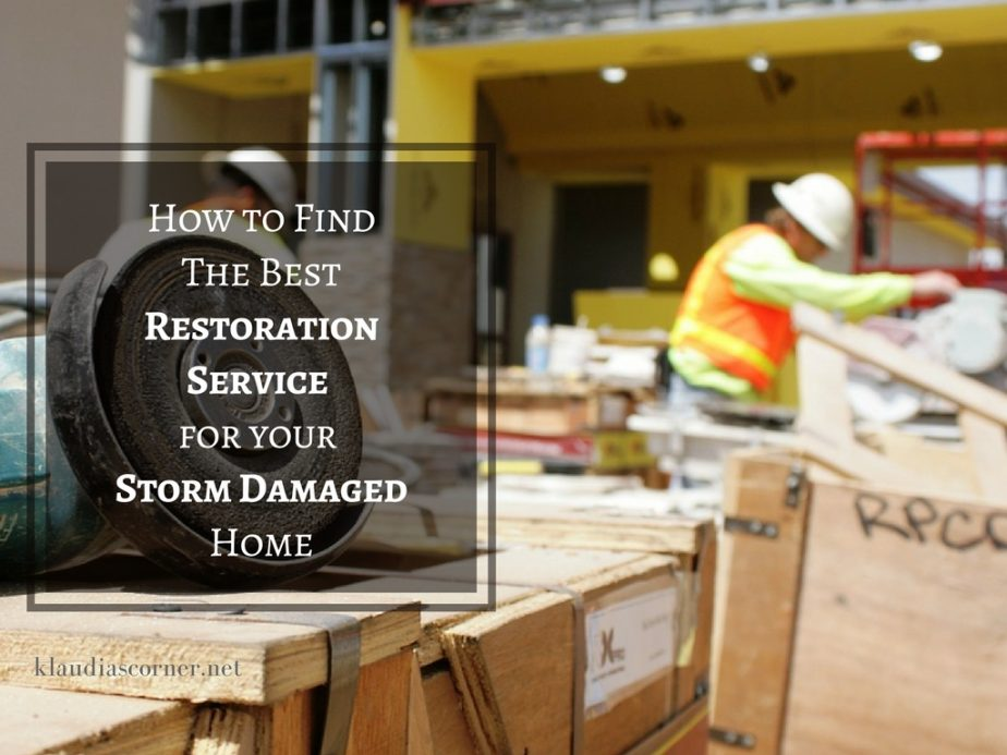How to Find Expert Restoration Services For a Storm Damaged Home