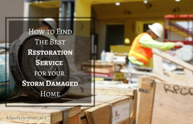 Storm Damage Services How to Find Expert Restoration Services for a Storm Damaged Home