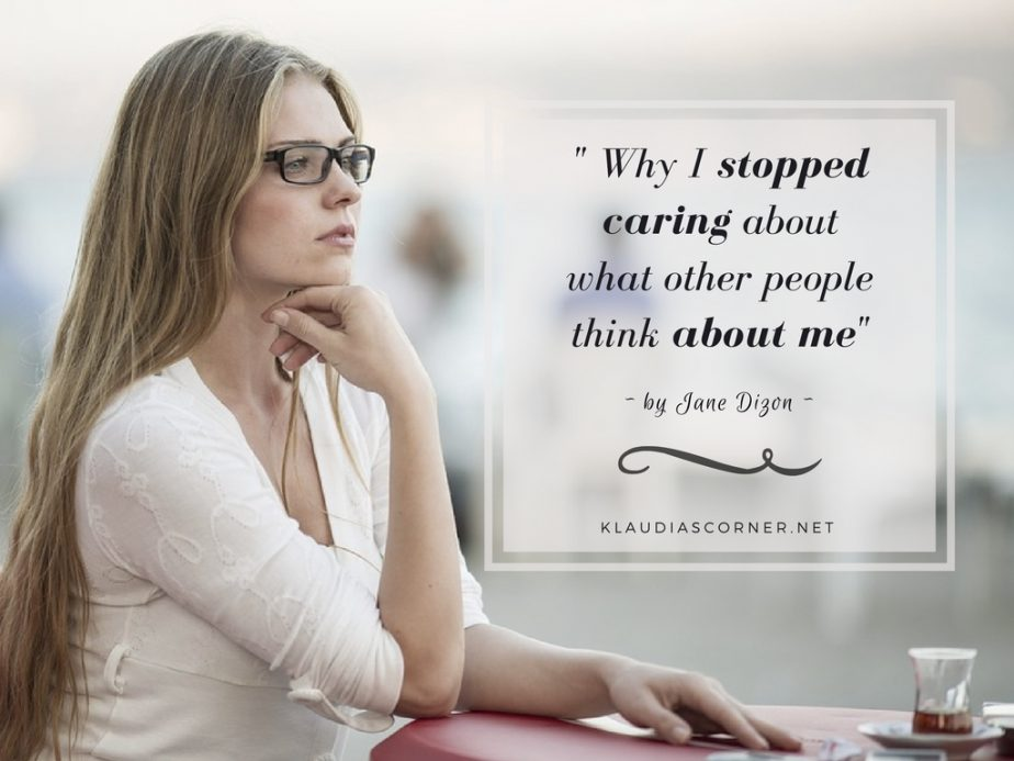"""Yes You Can! """"Why I Stopped Caring About What Other People Think About Me"""""""