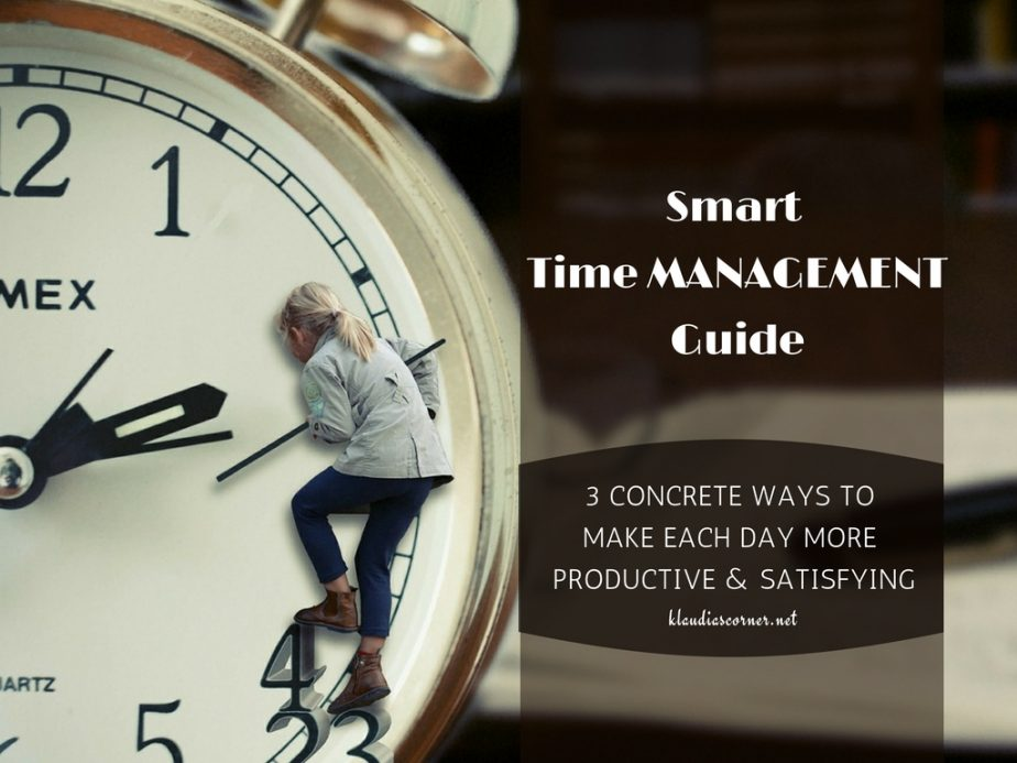 The Importance of Time Management - klaudiascorner.net