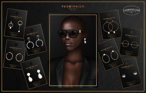 Fashion up your style with cool earrings