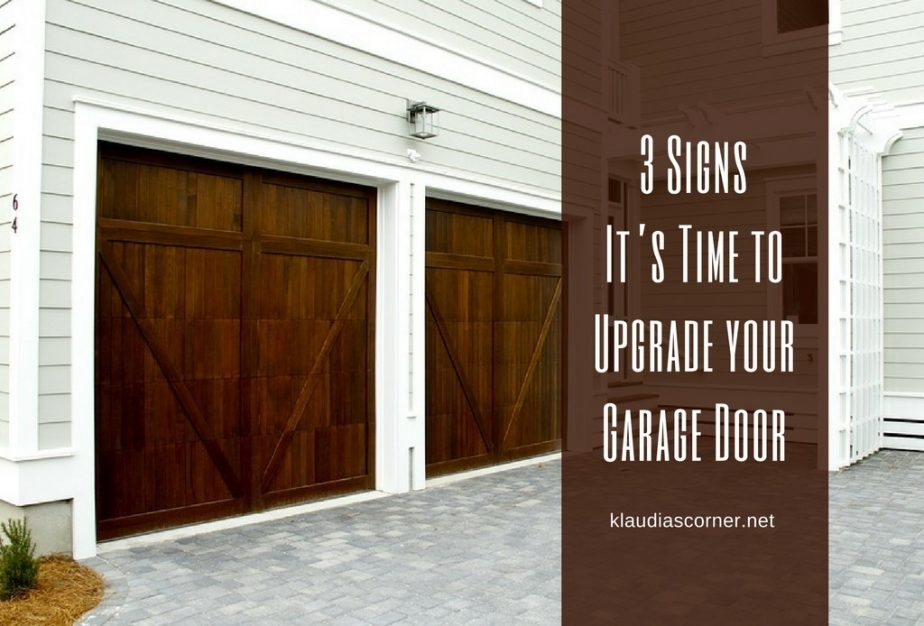 Three Signs Its Time To Upgrade Your Garage Door
