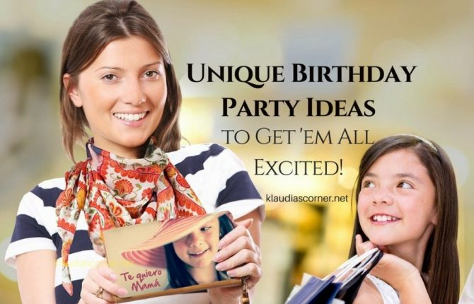 Unique Birthday Party Ideas - Organizing a Birthday Partyat the Trampoline Park