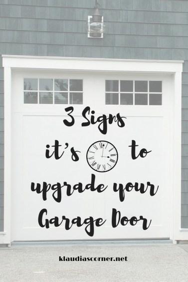 3 Signs It's Time To Upgrade Your Garage Door - a new garage door installation