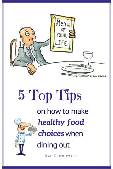 Healthy Foods And Weight Loss - 5 Tips On Eating Healthy When Dining Out