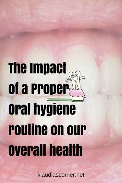 What is oral health ....and the impact of a good oral hygiene routine on our overall health