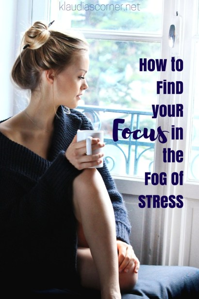 Self Improvement Motivation  How to find your Focus in the Fog of Stress