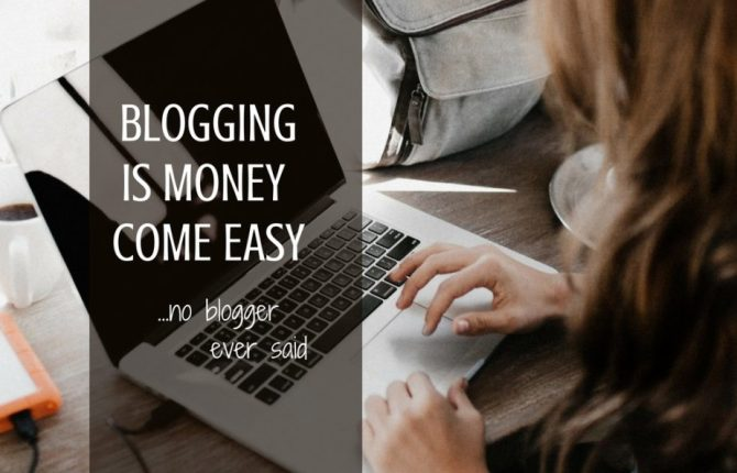 Blogging Is Money Come Easy