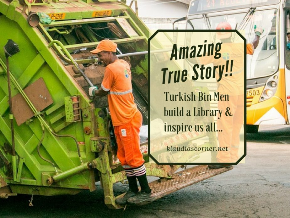 Rubbish Removal News: Turkish Bin Men Build a Library