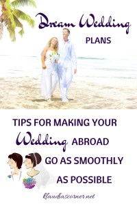 My Dream Wedding - Thinking Of Getting Married Abroad
