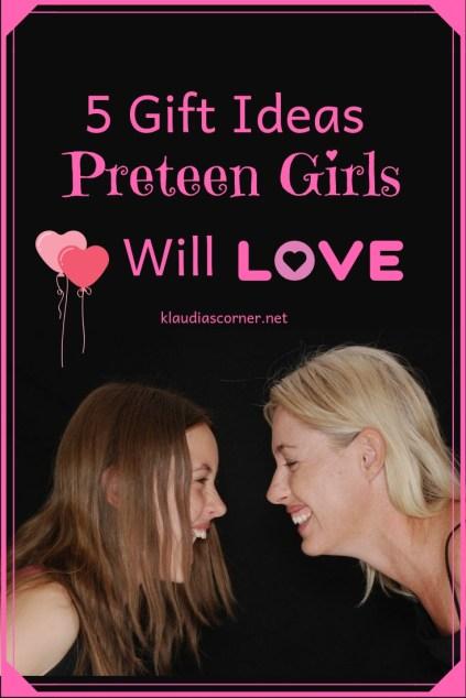 Unusual Gift Ideas - 5 gifts preteen girls will love - image©klaudiascorner.net