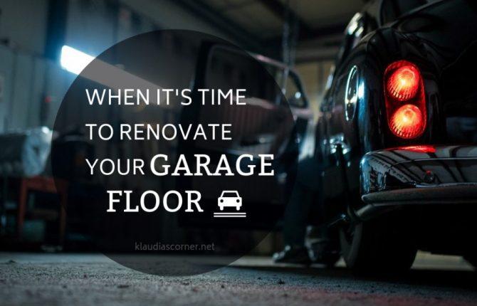 Epoxy Garage Floor Coating Tips - When it's Time to Renovate Your Garage Floor