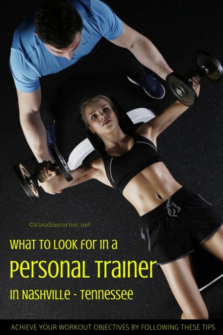 What to look for in a Personal Trainer in Nashville - TN