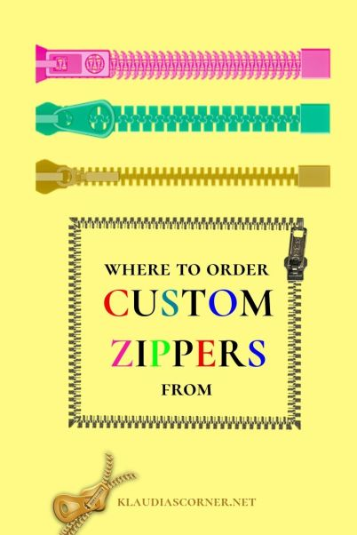 Where to order custom zippers from