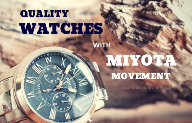The Best Watches with Miyota Movement - klaudiascorner.net