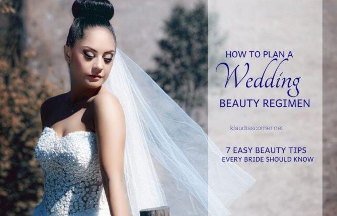 Wedding Hair & Makeup Tips - How To Plan A Wedding Beauty Regimen