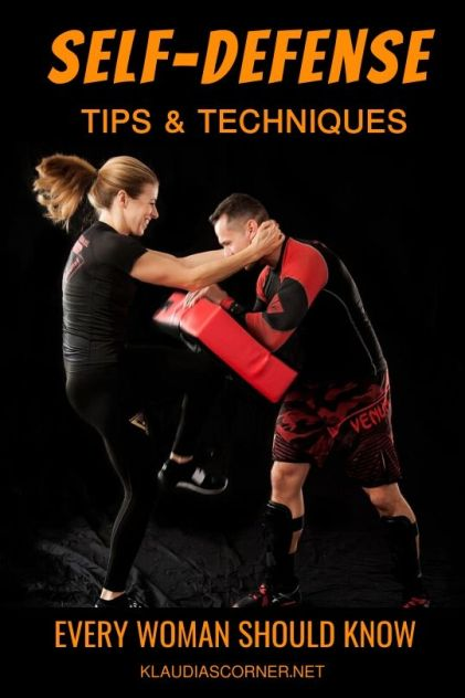Self-Defense Moves,Tips& Techniques Every Woman Should Know