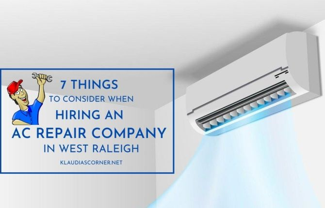 Hiring an Air Conditioning Repair Company in West Raleigh
