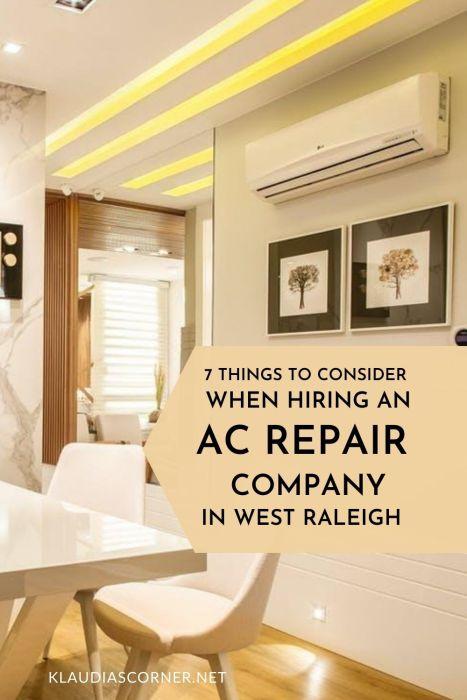 Pinterst image AC Repair Companies
