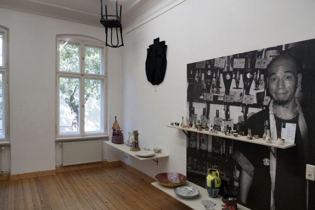 brennzeiten, 2014, Künstler-Keramik 90er Jahre, Werkstatt Wilfriede Maaß, Sake Bar, Gestaltungsentwurf Klaus Killisch, Sabine Herrmann